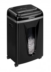 Шредер Fellowes FS-40741 MicroShred 450M, DIN P-5, 2х12мм, 9лст.,22лтр., уничт.:скобы,пл.карты,CD