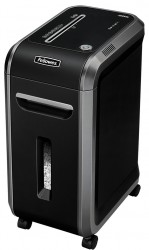 Шредер Fellowes FS-46091 MicroShred 99MS, DIN P-5, 2х14мм, 14лст,34лтр,SafeSense, уничт: скобы,карты