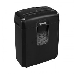 Шредер Fellowes FS-46925 Powershred 8MC, DIN P-4/P-5, 3х10мм, 8лст., 14лтр.,уничт.: скобы, пл.карты
