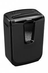 Шредер Fellowes FS-46031 Powershred  M-7C, DIN P-3,  4х46мм, 7лст., 14лтр.,  уничт: скобы, пл.карты
